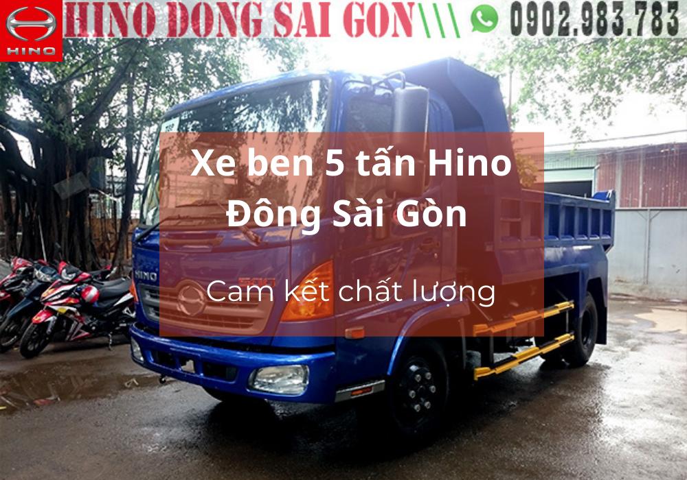 Hino Đông Sài Gòn - Chất lượng trên từng sản phẩm