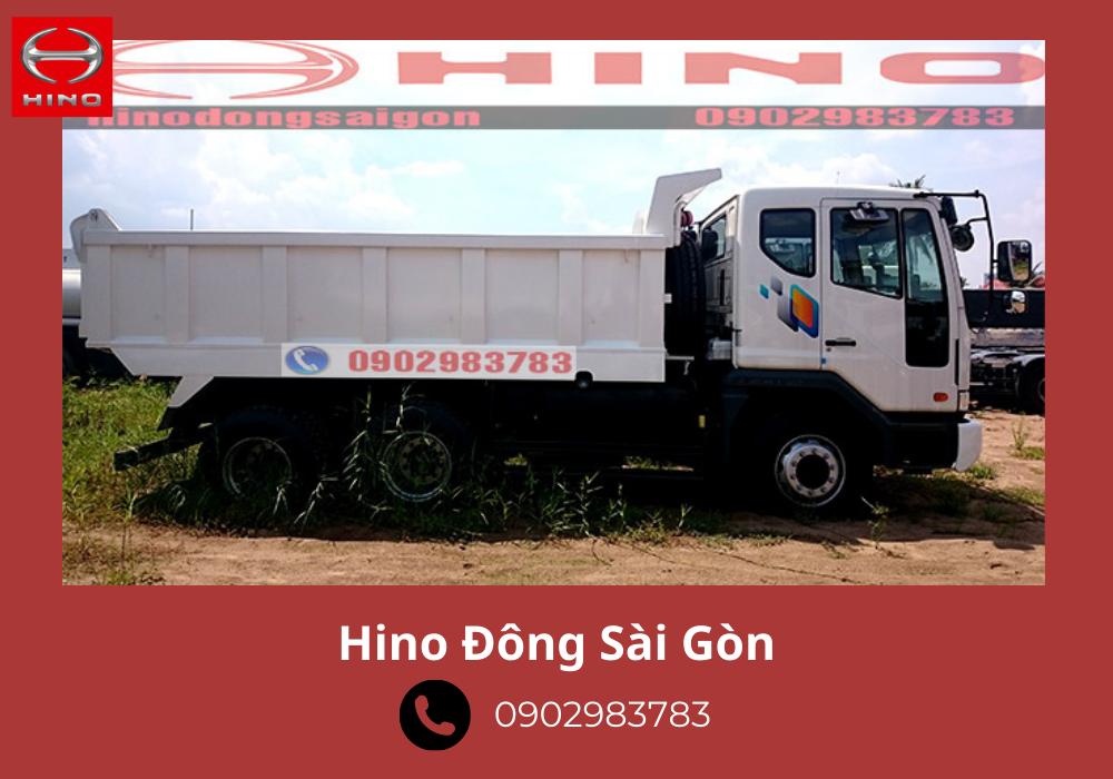 Xe ben Daewoo 15 tấn Hino Đông Sài Gòn chính sách bảo hành tiêu chuẩn