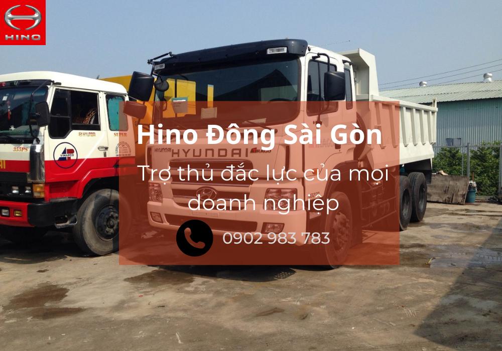 Hino Đông Sài Gòn - Đồng hành cùng doanh nghiệp
